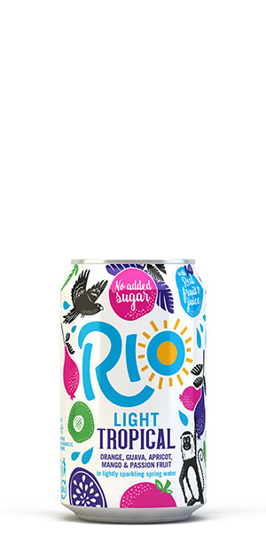 Rio Tropical Light Can 300x600