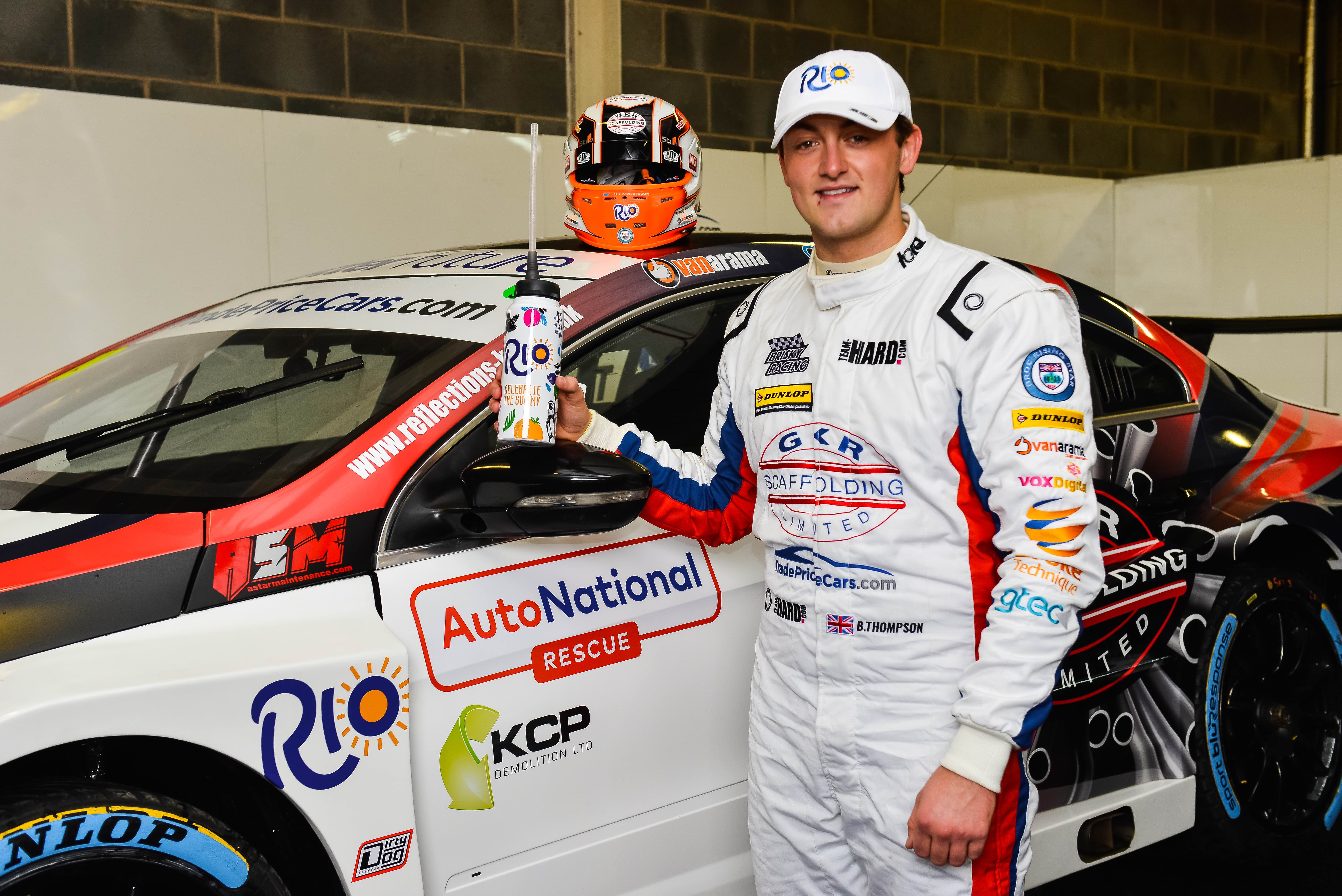 Rio race car driver Bobby Thompson shares his journey so far ...